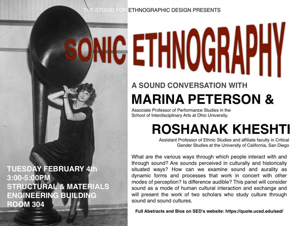 Sonic Ethnography Studio